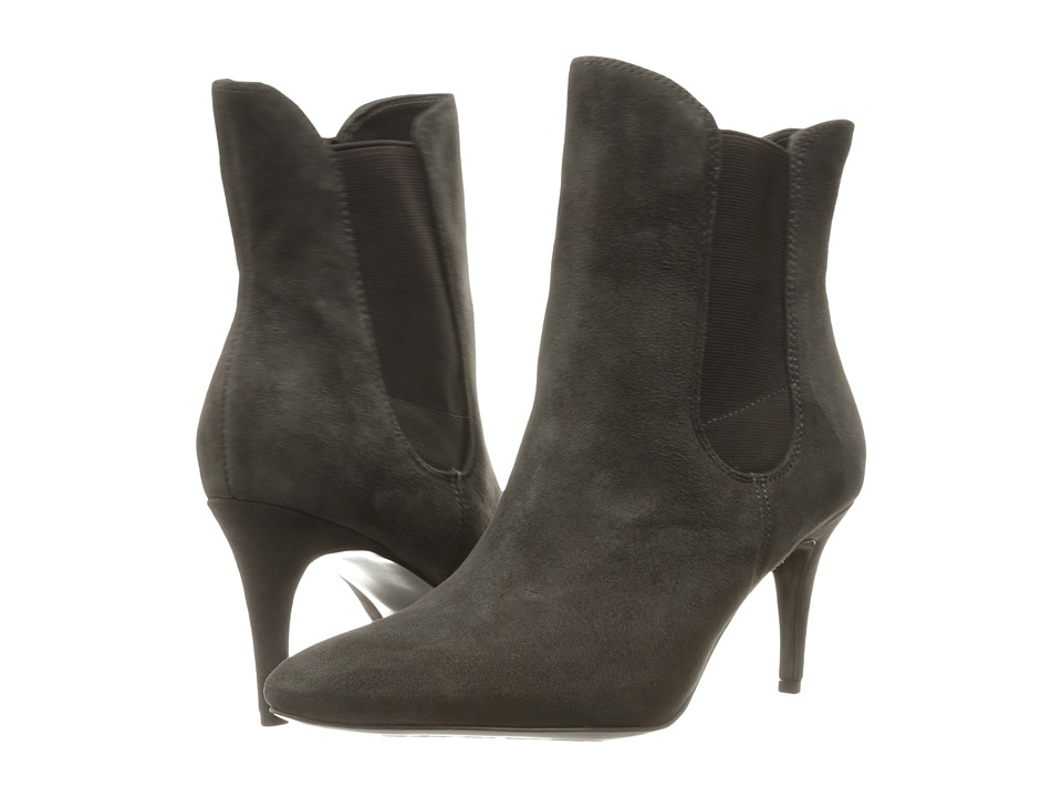 LAUREN Ralph Lauren - Pashia (Charcoal Kid Suede) Women's Shoes