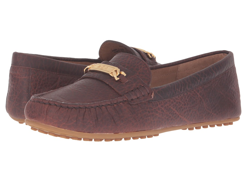 LAUREN Ralph Lauren Berdine (Brandy Rugged Grain) Women