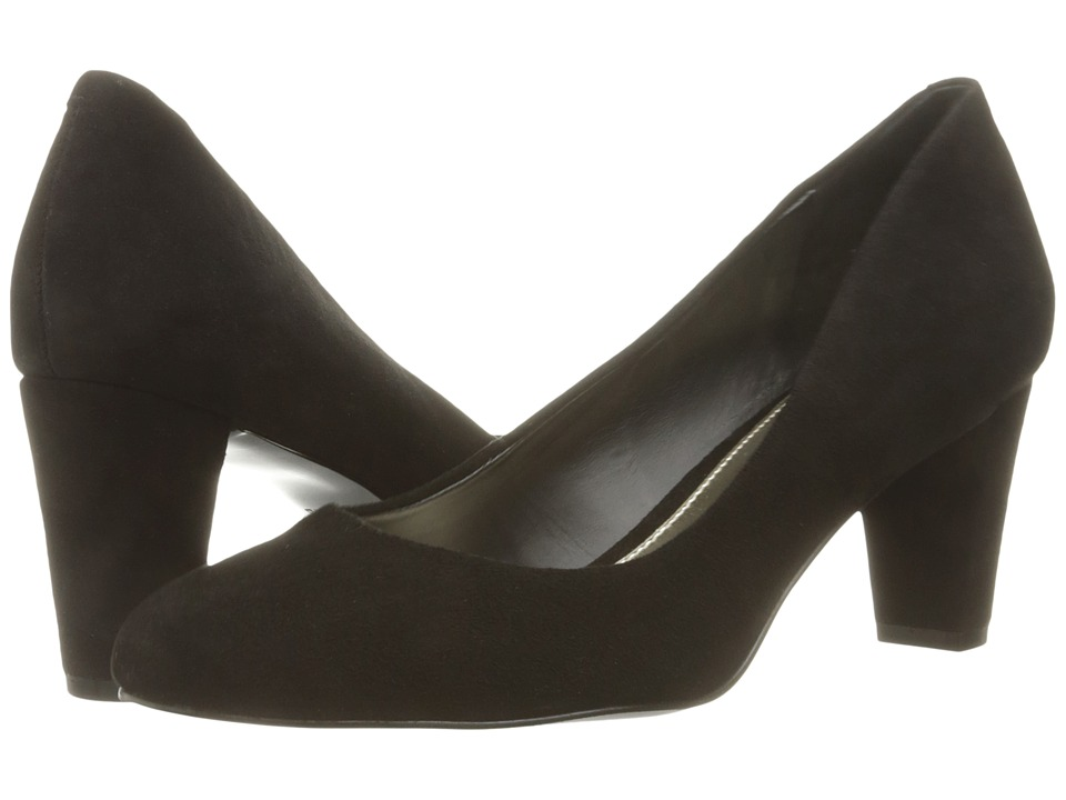 LAUREN Ralph Lauren - Hala (Black Kid Suede) Women's Shoes