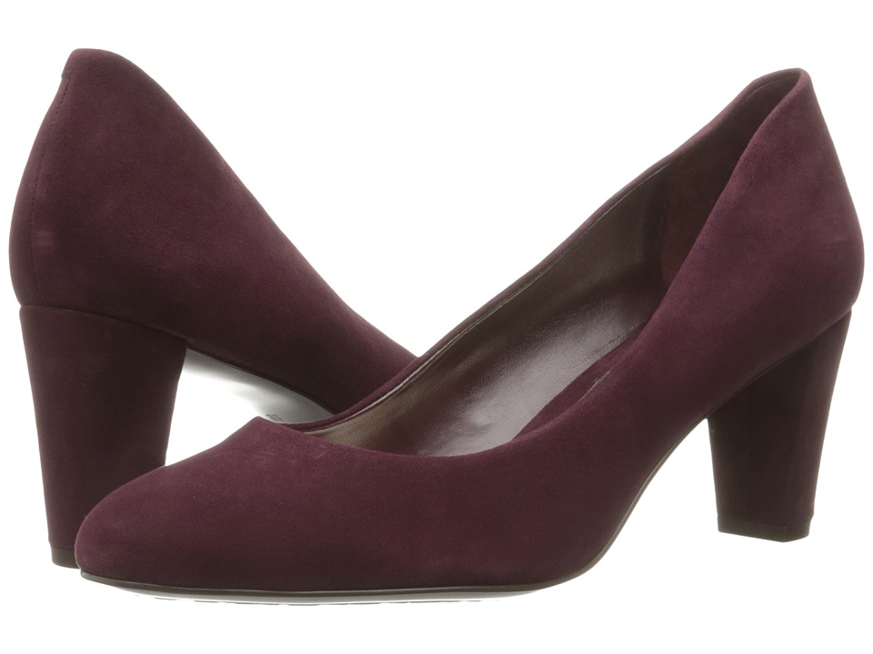 LAUREN Ralph Lauren - Hala (Claret Kid Suede) Women's Shoes