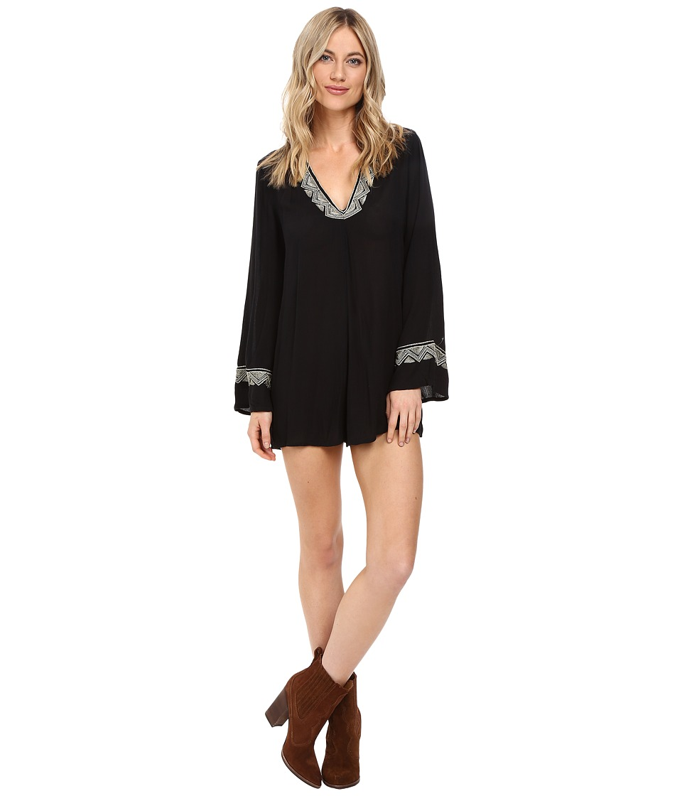 Amuse Society - Lido Romper (Black) Women's Jumpsuit & Rompers One Piece