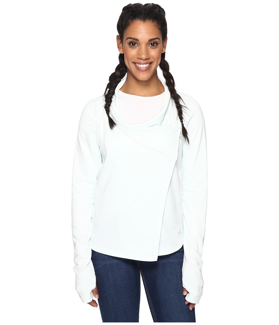 Arc'teryx - Yonge Long Sleeve Wrap (Ionic Sky) Women's Clothing