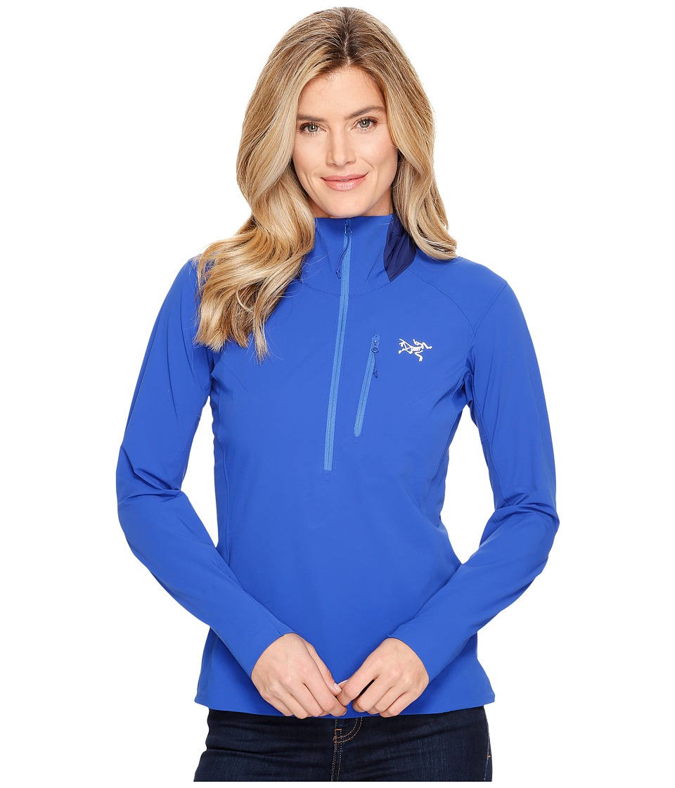 Arc'teryx - Psiphon SL Pullover (Somerset Blue) Women's Long Sleeve Pullover