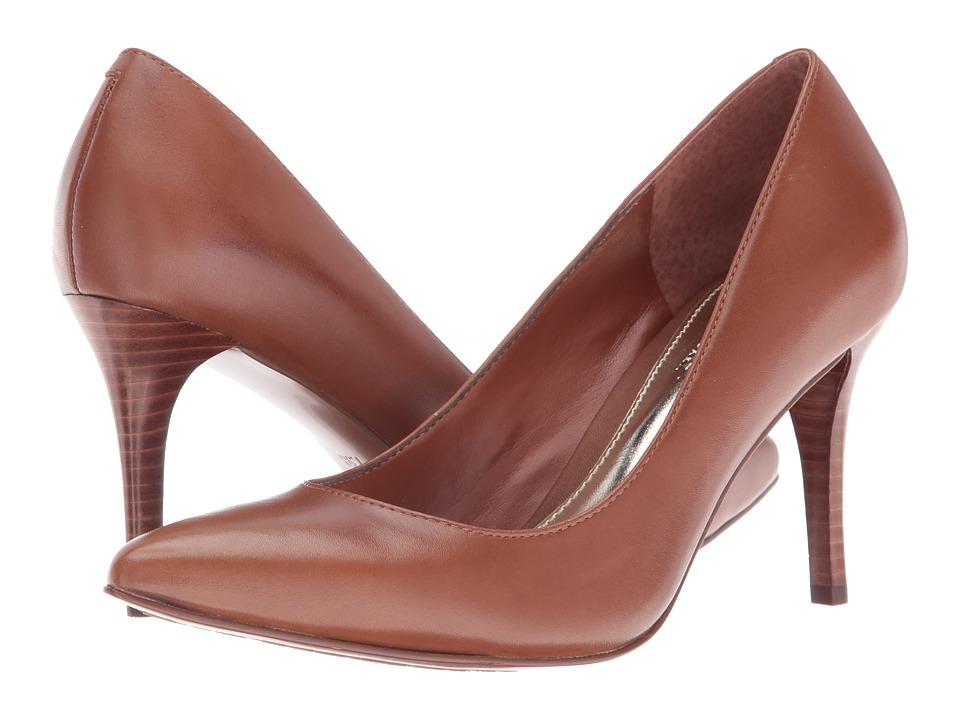 LAUREN Ralph Lauren Reave (Polo Tan Signature Burn Calf) High Heels
