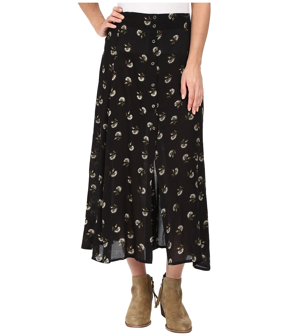 Amuse Society Tallyn Printed Skirt (Black) Women
