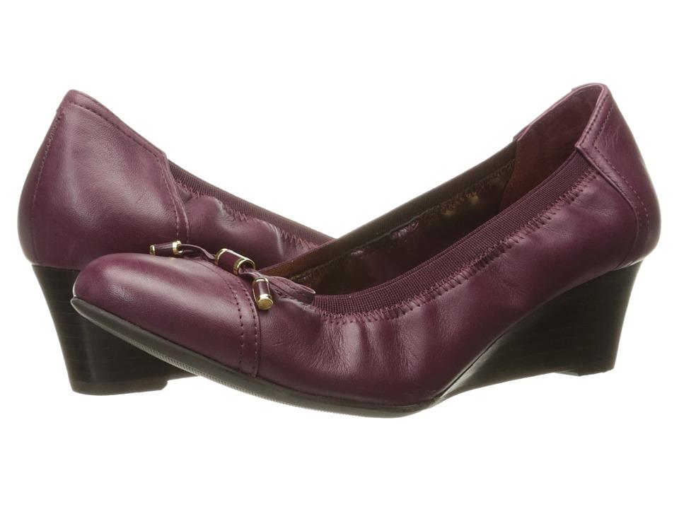 LAUREN Ralph Lauren Shaylee (Claret Super Soft Leather) Women