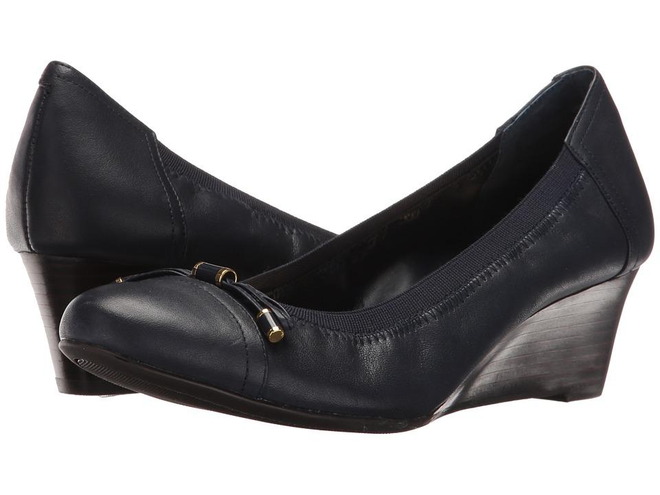 LAUREN Ralph Lauren Shaylee (Modern Navy Super Soft Leather) Women