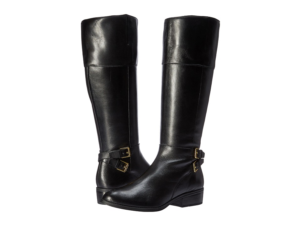 LAUREN Ralph Lauren Marba (Black/Black Burnished Calf) Women