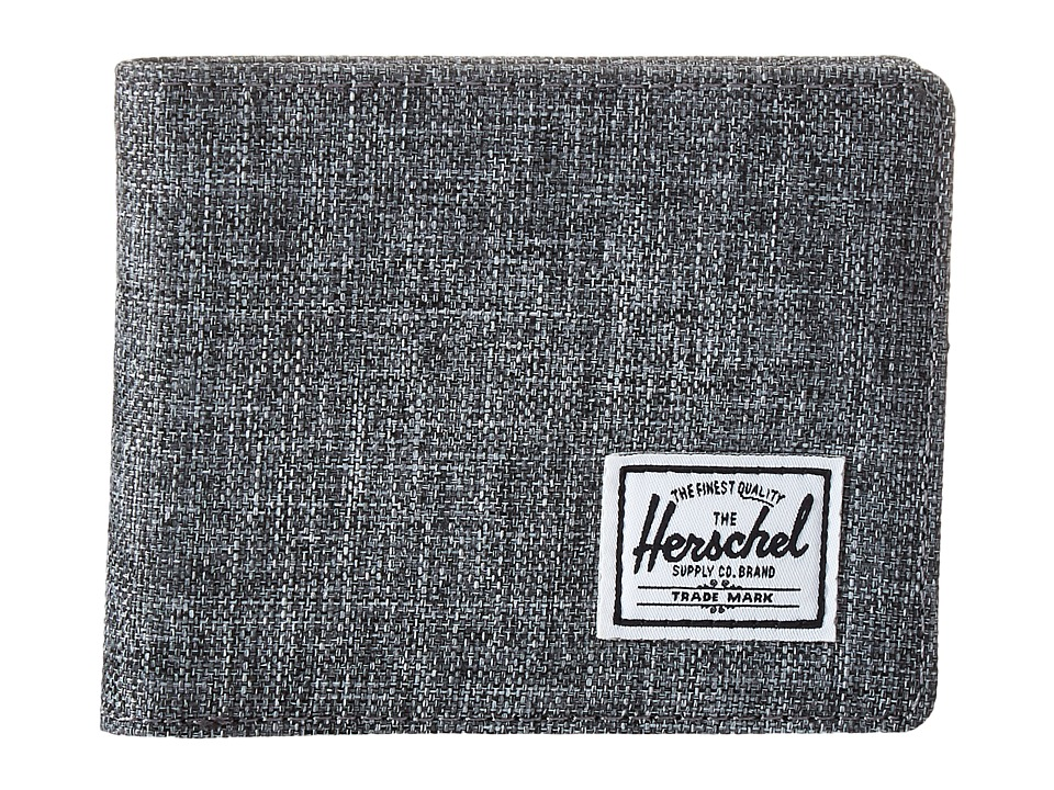 Herschel Supply Co. - Roy (Raven Crosshatch) Bi-fold Wallet
