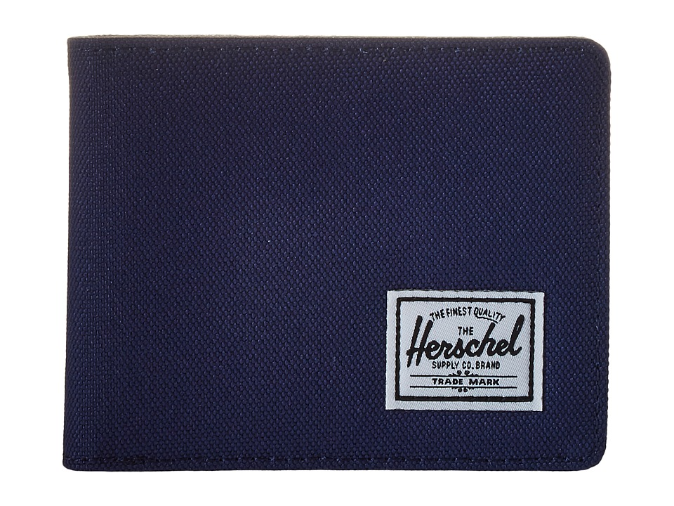 Herschel Supply Co. - Roy (Twilight Blue/Pelican) Bi-fold Wallet