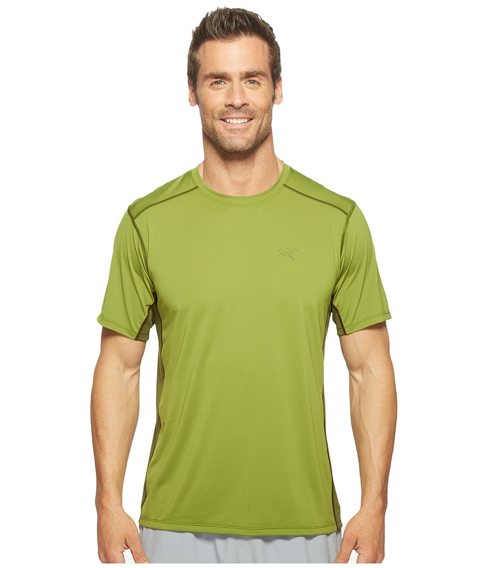 Arc'teryx - Ether Crew S/S (Gator) Men's Clothing