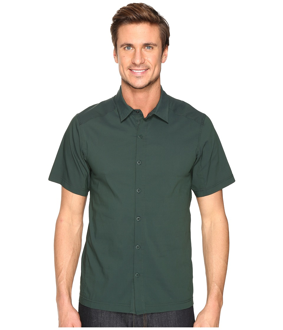 Arc'teryx - Transept SS Shirt (Hemlock) Men's Short Sleeve Button Up