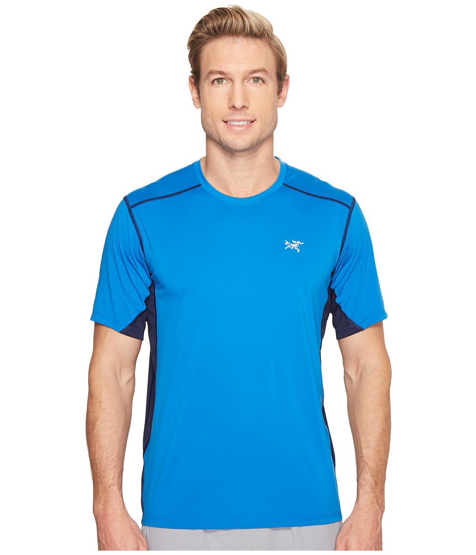 Arc'teryx - Accelero Comp S/S (Rigel) Men's Short Sleeve Pullover