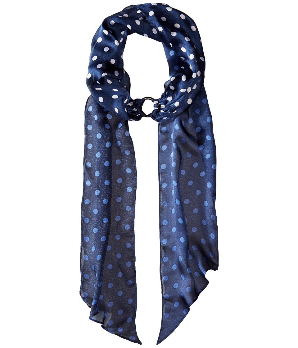 BCBGeneration - Dot to Spot Choker Scarf (Blue Depths) Scarves