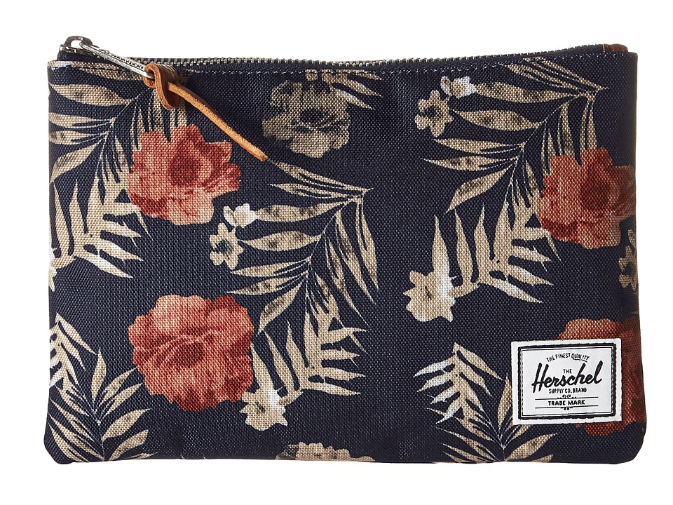 Herschel Supply Co. - Field Pouch (Peacoat Floria) Travel Pouch