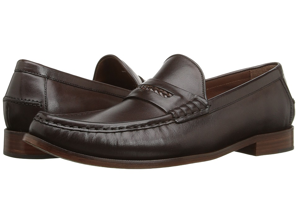 Cole Haan - Pinch Gotham Penny Loafer (Chestnut) Men's Slip-on Dress Shoes