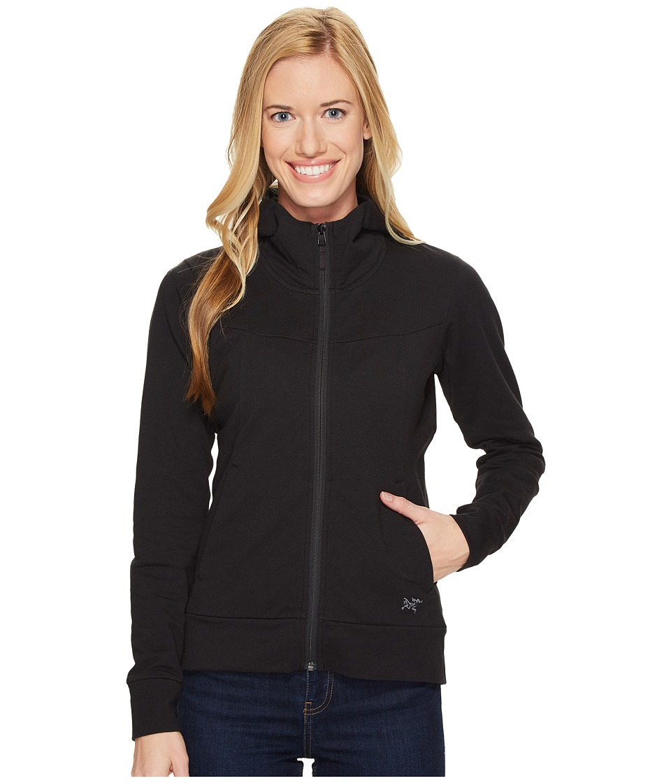 Arc'teryx - Kenai Hoodie (Black) Women's Sweatshirt