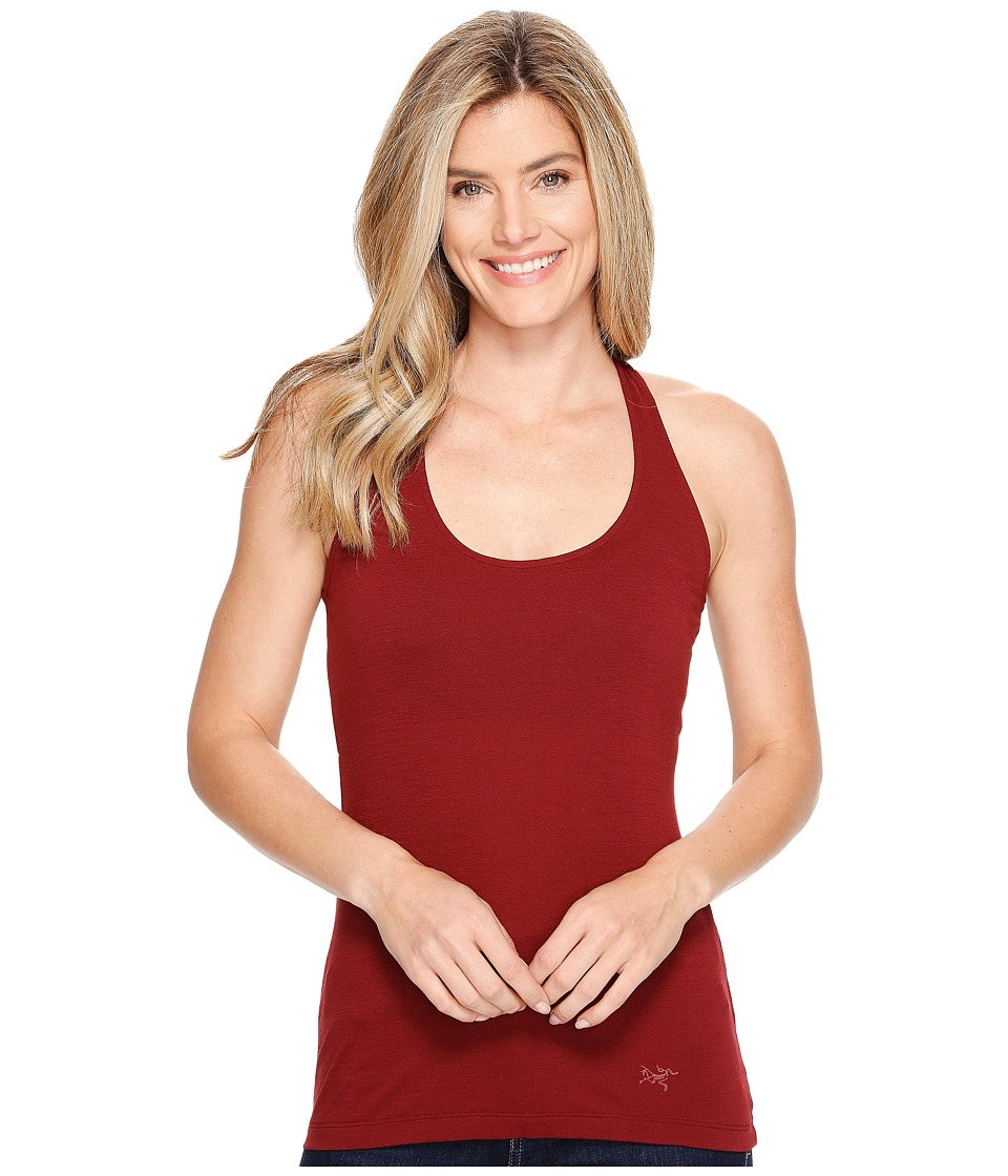 Arc'teryx - A2B Tank Top (Scarlet) Women's Sleeveless