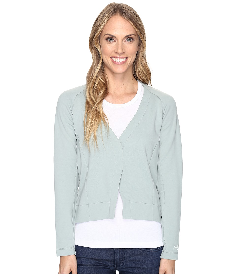 Arc'teryx - A2B Cardigan (Sage) Women's Sweater