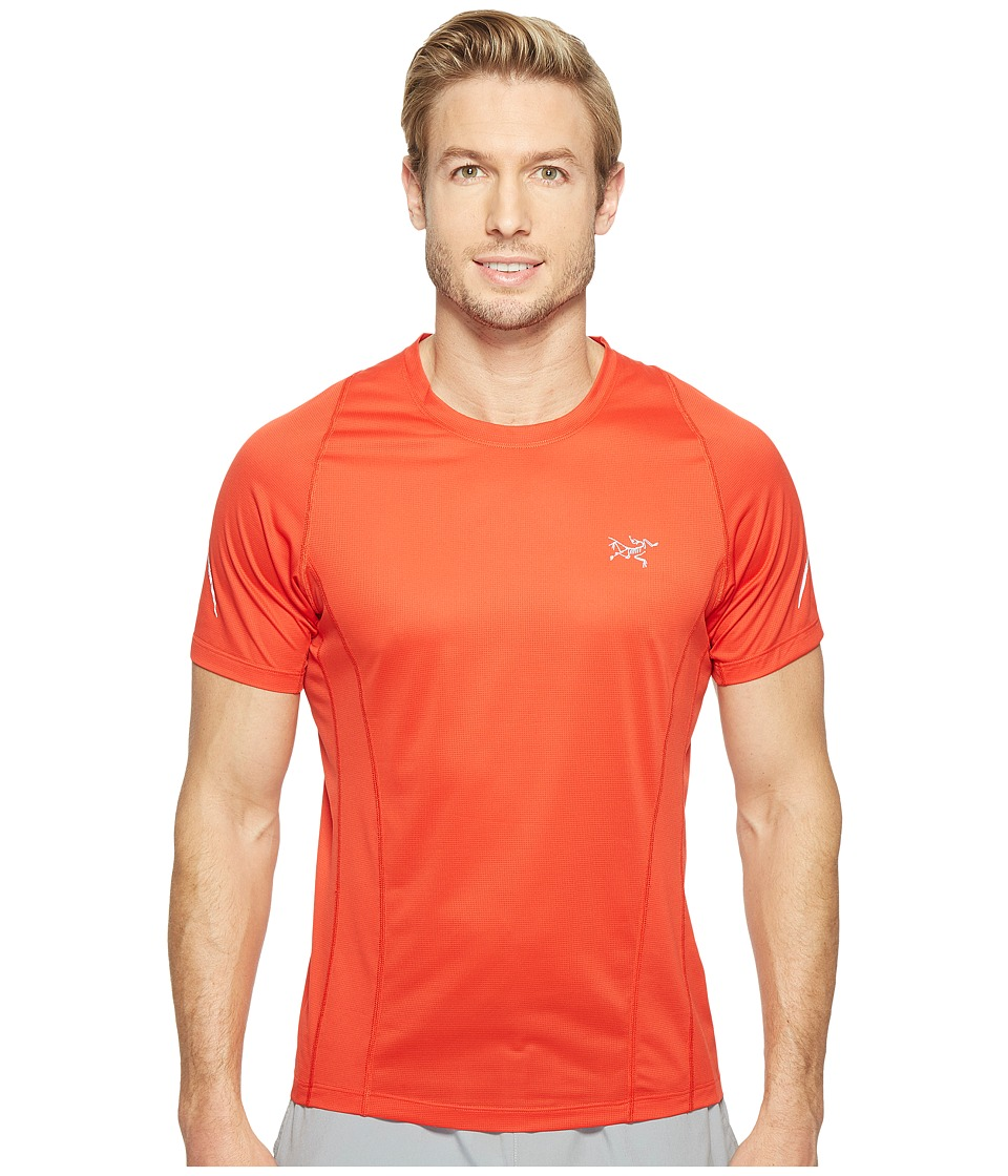 Arc'teryx - Sarix Short Sleeve (Cardinal) Men's Clothing