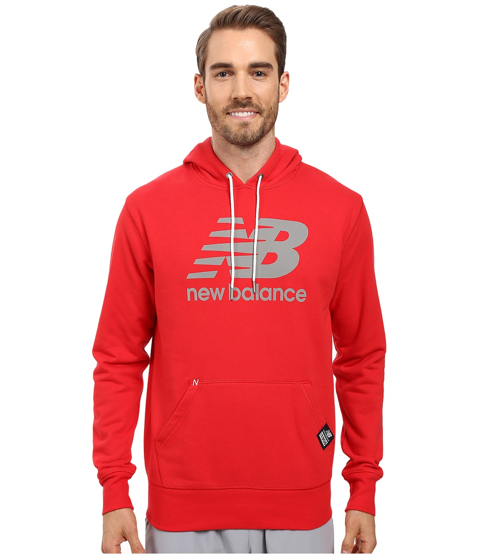 New Balance - Essentials PLS Pullover (Chinese Red) Men's Sweatshirt