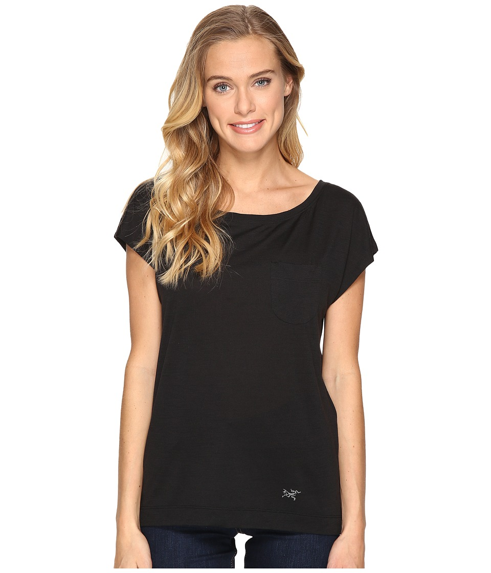Arc'teryx - A2B Scoop Neck (Black) Women's Clothing