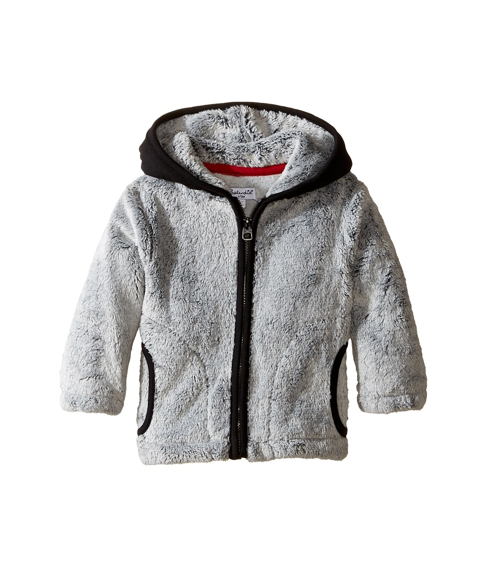 Splendid Littles - Faux Fur Jacket (Infant) (Grey Heather) Boy's Coat