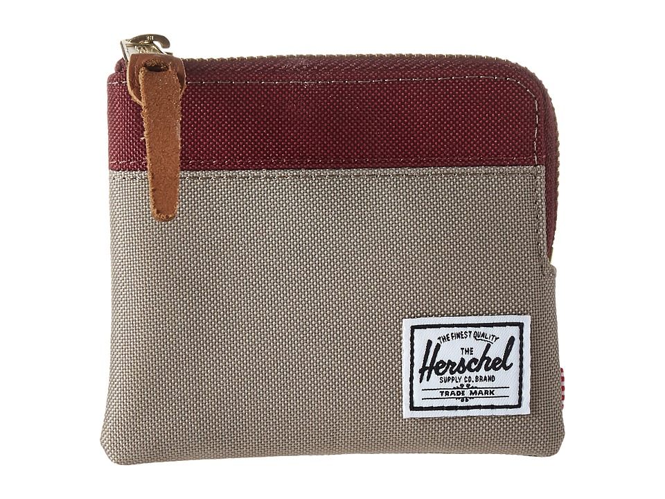 Herschel Supply Co. - Johnny (Brindle/Windsor Wine) Coin Purse