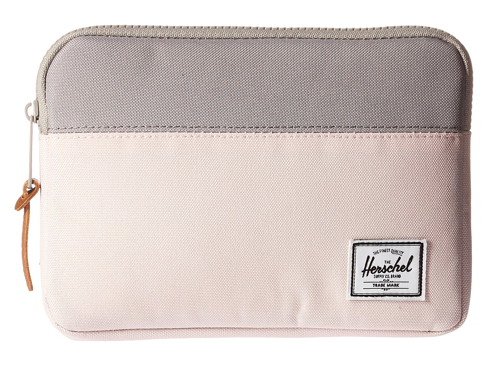 Herschel Supply Co. - Anchor Sleeve for iPad Mini (Cloud Pink/Ash) Computer Bags