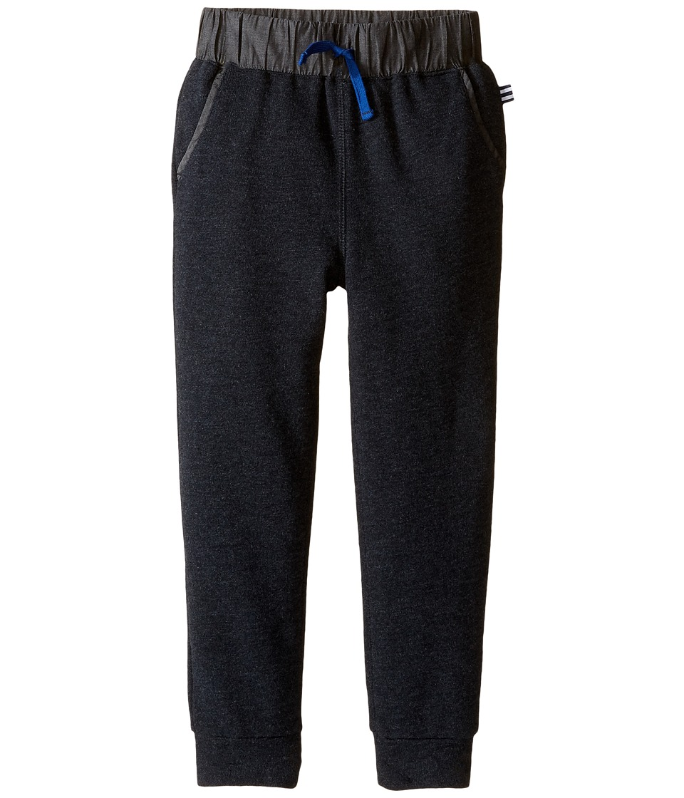 Splendid Littles - Fleece Jogger (Little Kids) (Black) Boy's Casual Pants