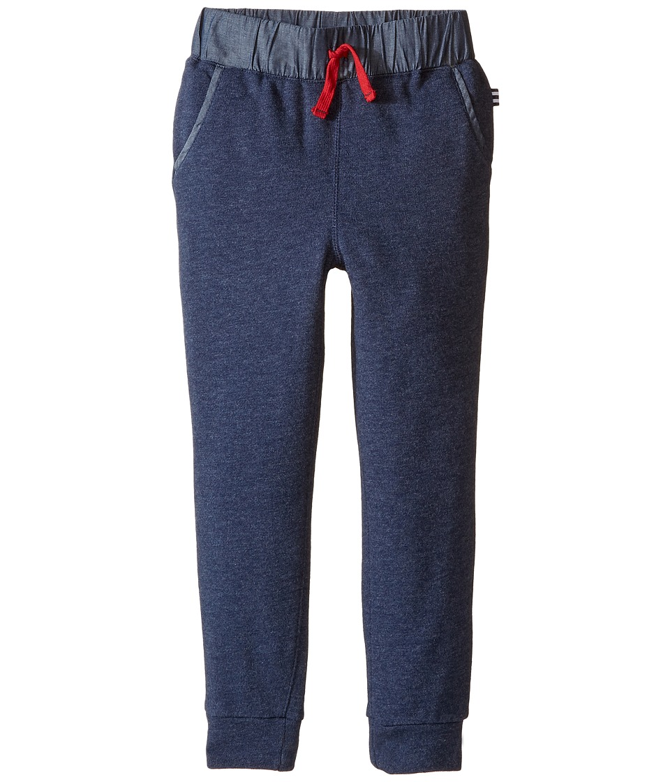 Splendid Littles - Fleece Jogger (Little Kids) (Navy) Boy's Casual Pants