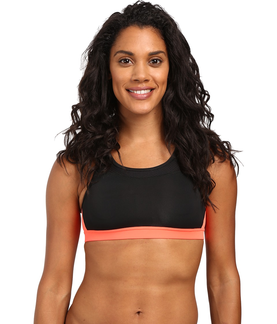 New Balance - NB Pulse Bra (Black Multi) Women's Bra