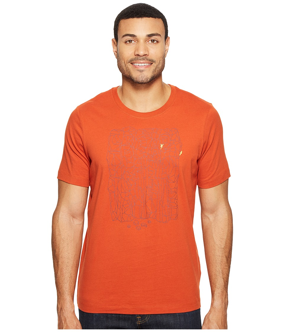 Arc'teryx - Block Short Sleeve T-Shirt (Rooibos) Men's T Shirt