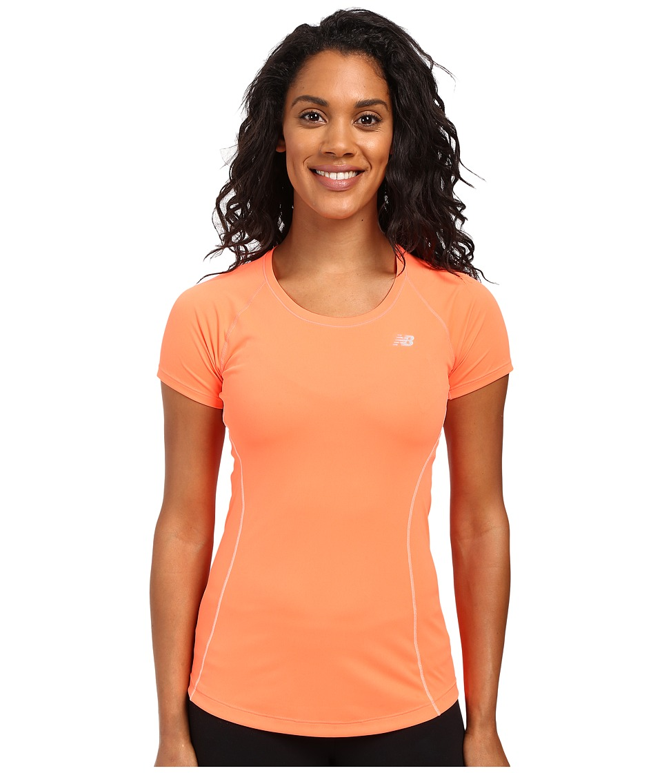 New Balance - NB Ice Short Sleeve (Dragon Fly) Women's Clothing