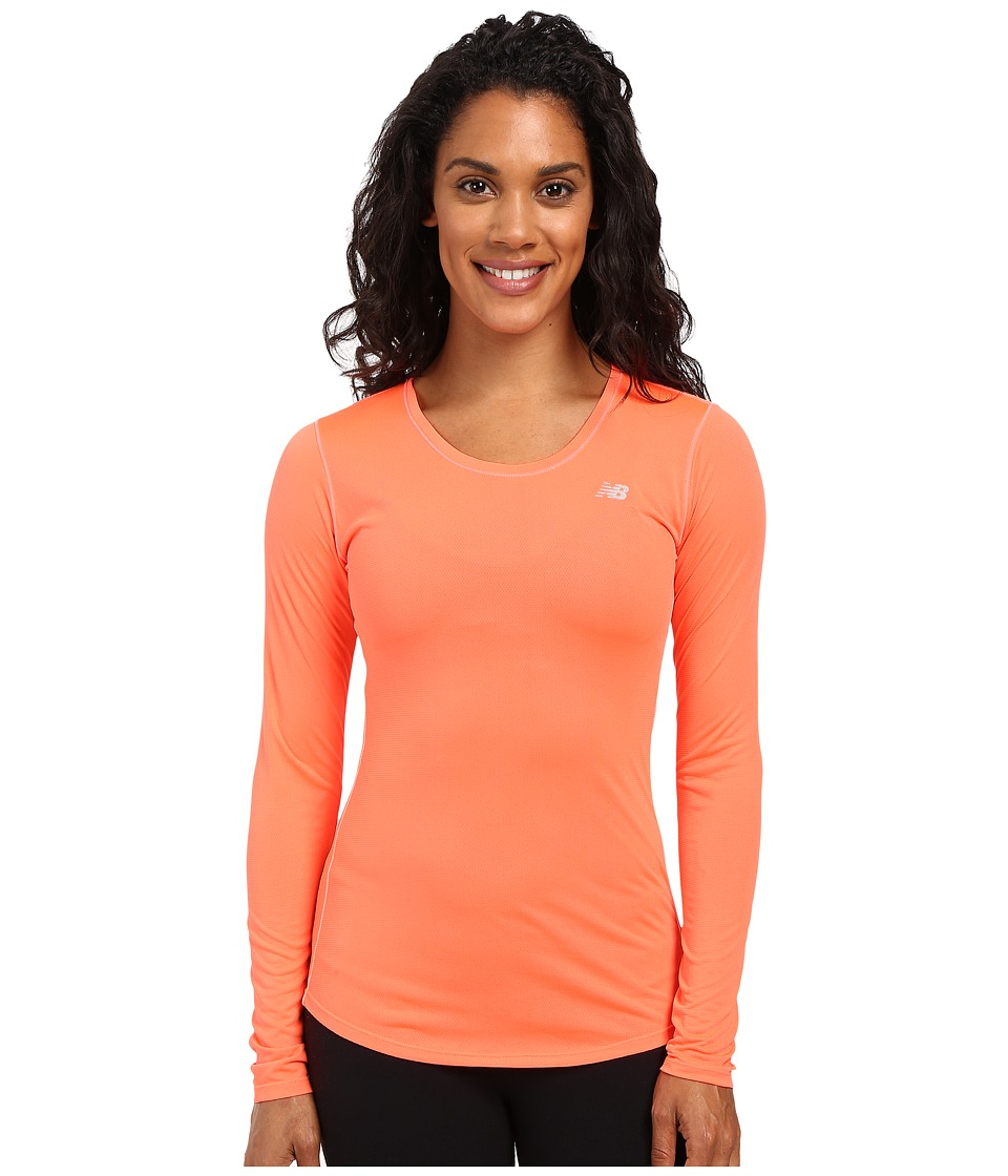 New Balance - Accelerate Long Sleeve (Dragon Fly) Women's Long Sleeve Pullover
