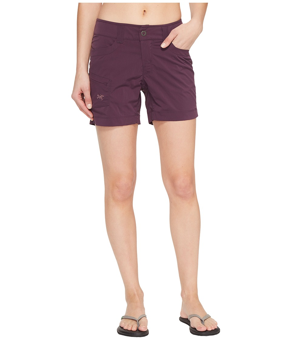 Arc'teryx - Parapet Shorts (Purple Reign) Women's Shorts