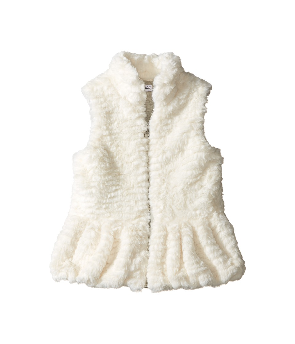 Splendid Littles - Faux Fur Vest (Toddler) (Off-White) Girl's Vest