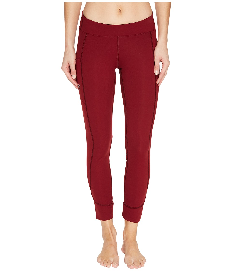 Arc'teryx - Sunara Tights (Scarlet) Women's Casual Pants