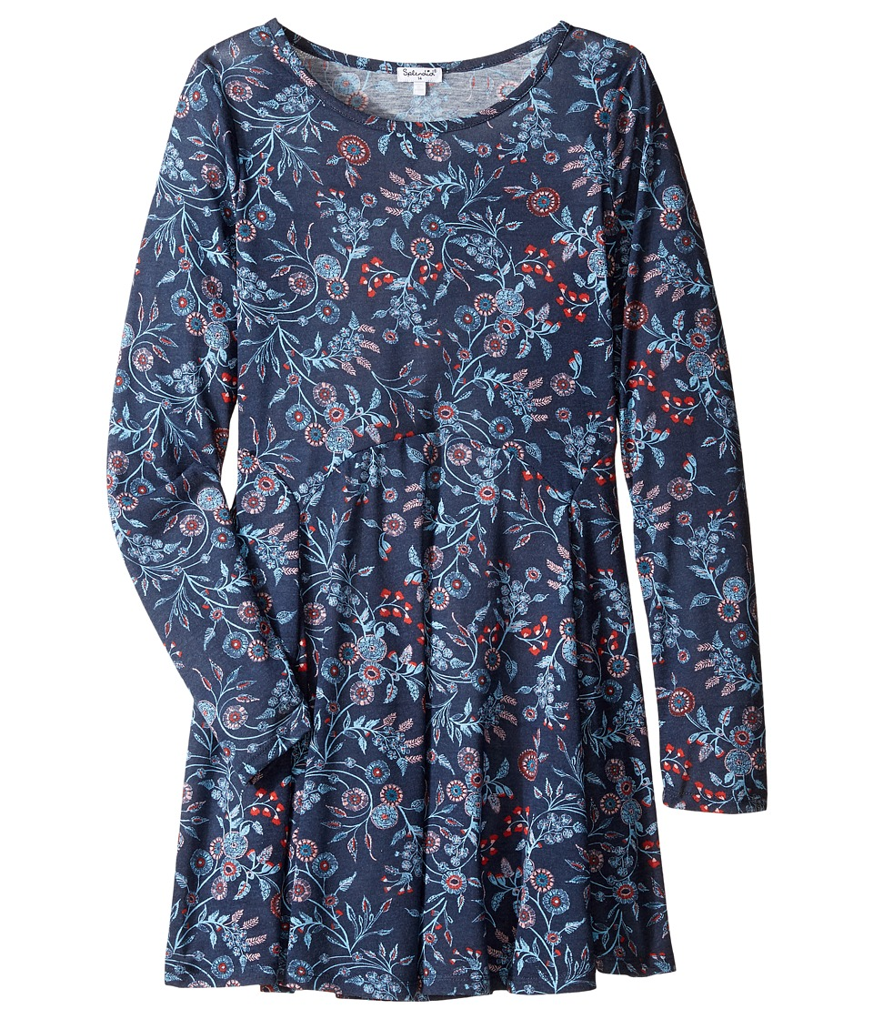 Splendid Littles - Floral Print Dress (Big Kids) (Print) Girl's Dress