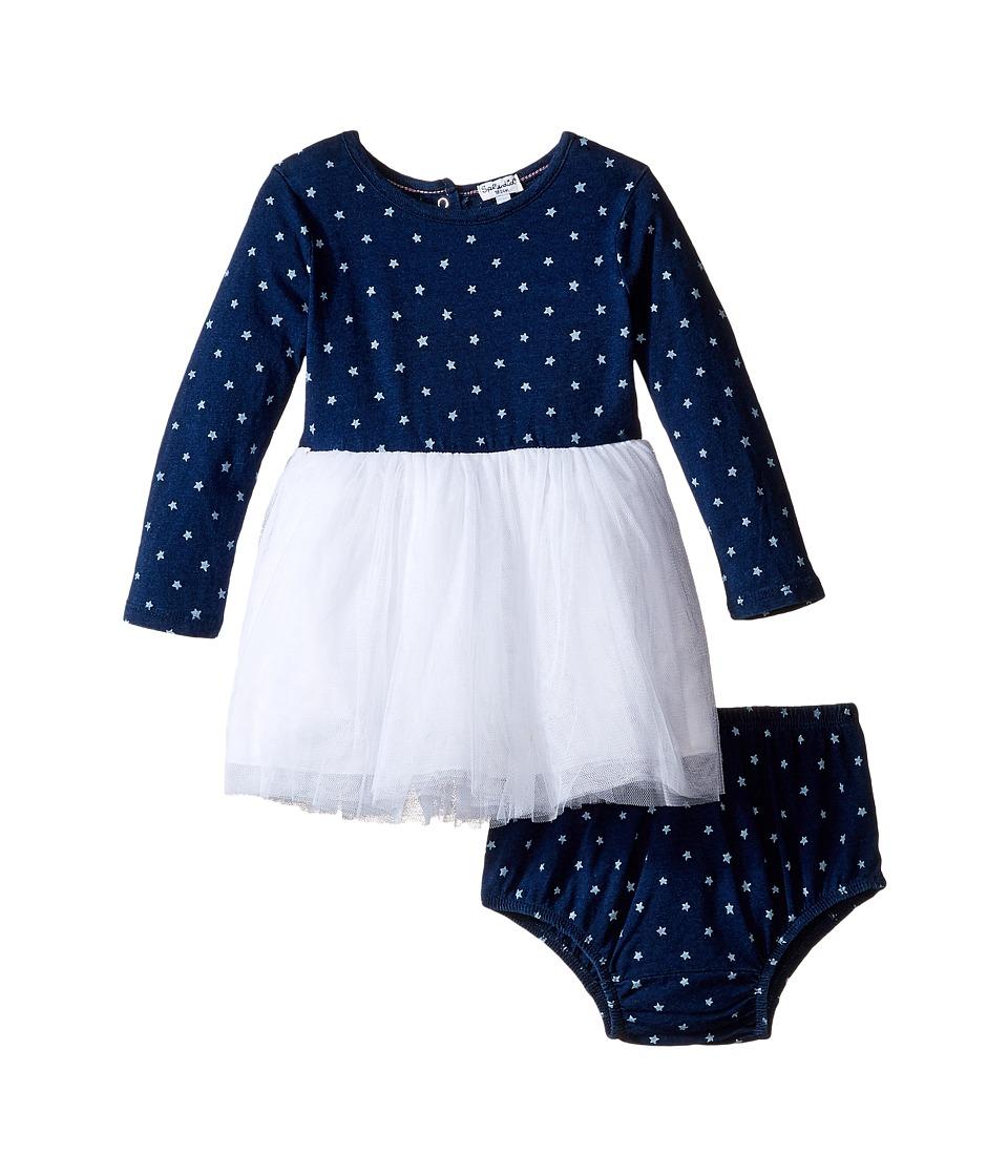 Splendid Littles - Indigo Tutu Dress Star Print (Infant) (Dark Stone Star) Girl's Dress