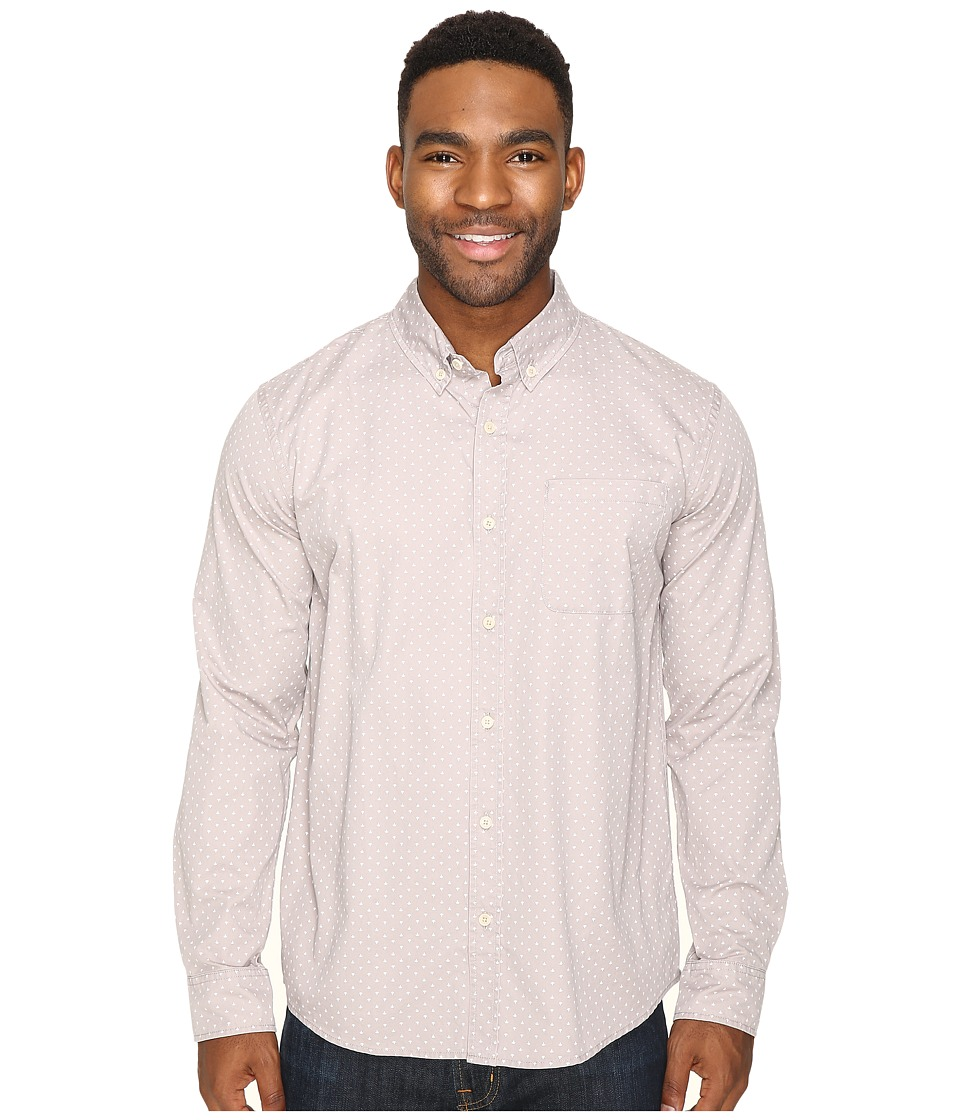 United By Blue - Firefly Button Down (Grey) Men's Clothing