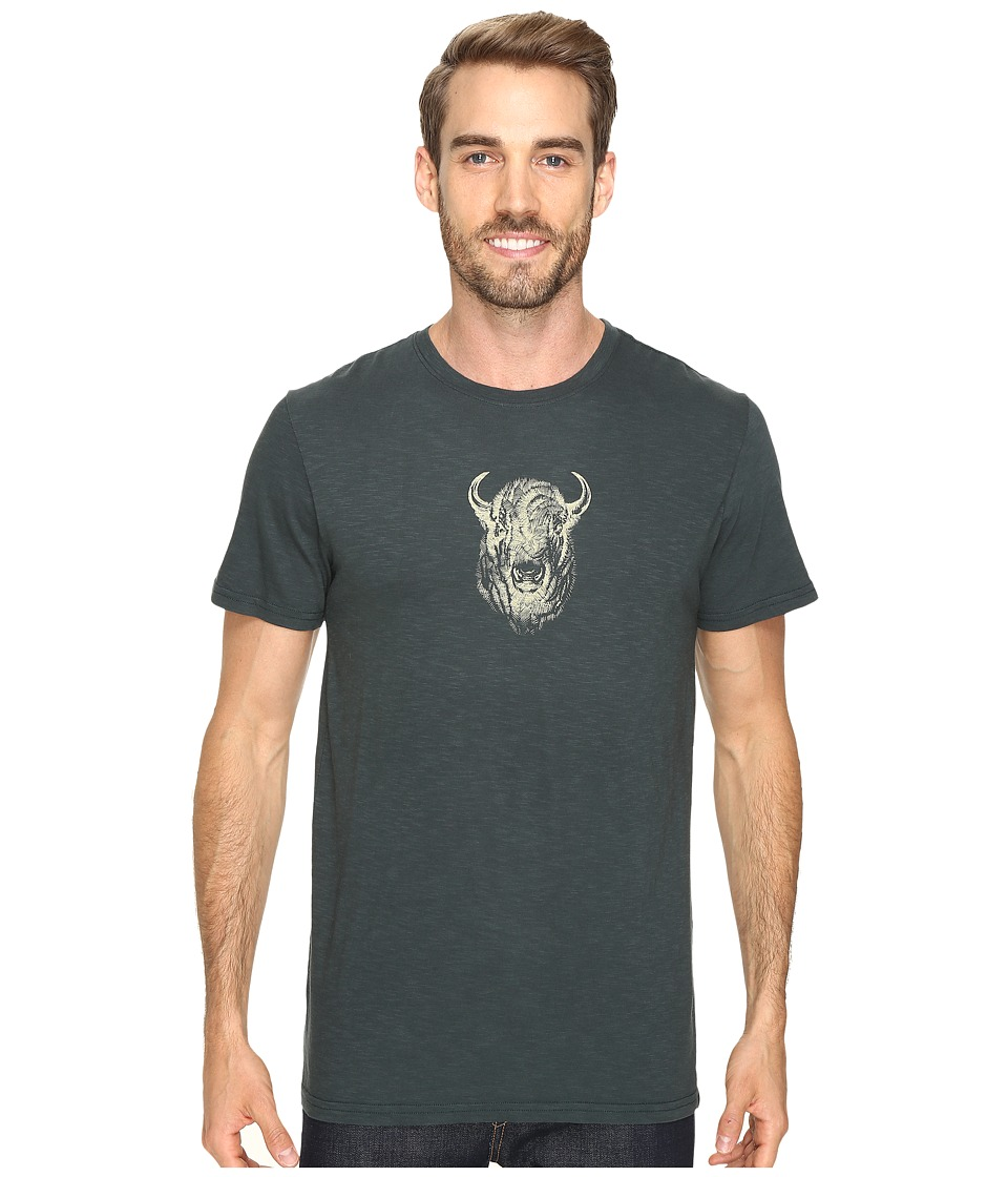 United By Blue - Bison Sketch (Forest) Men's Clothing