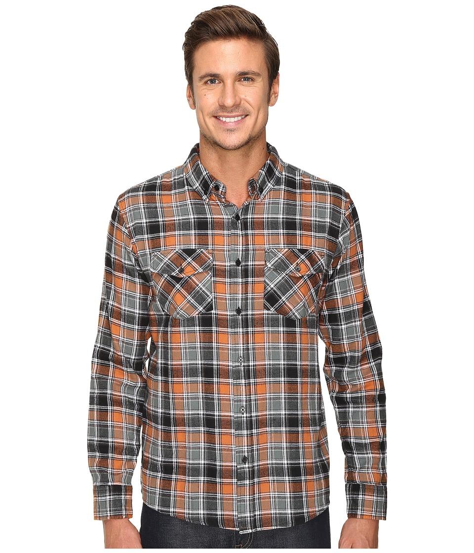 United By Blue - Paltz Plaid (Nutmeg/Grey) Men's Clothing