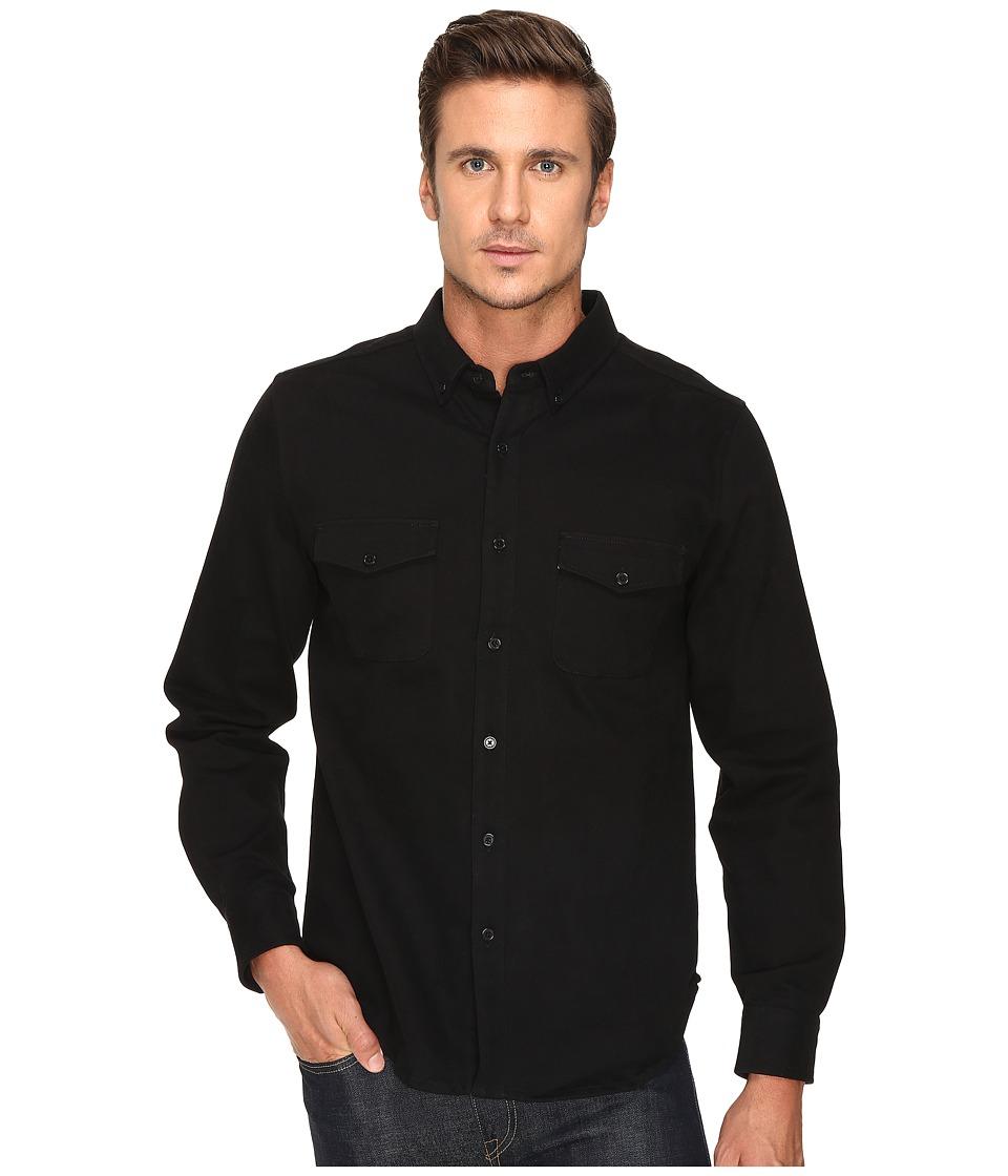 United By Blue - Kennett Work Shirt (Black) Men's Clothing