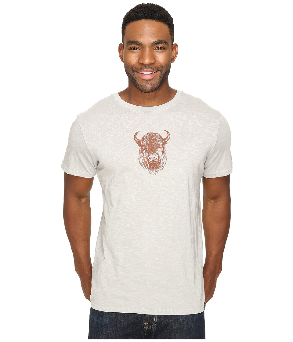 United By Blue - Bison Sketch (Limestone) Men's Clothing
