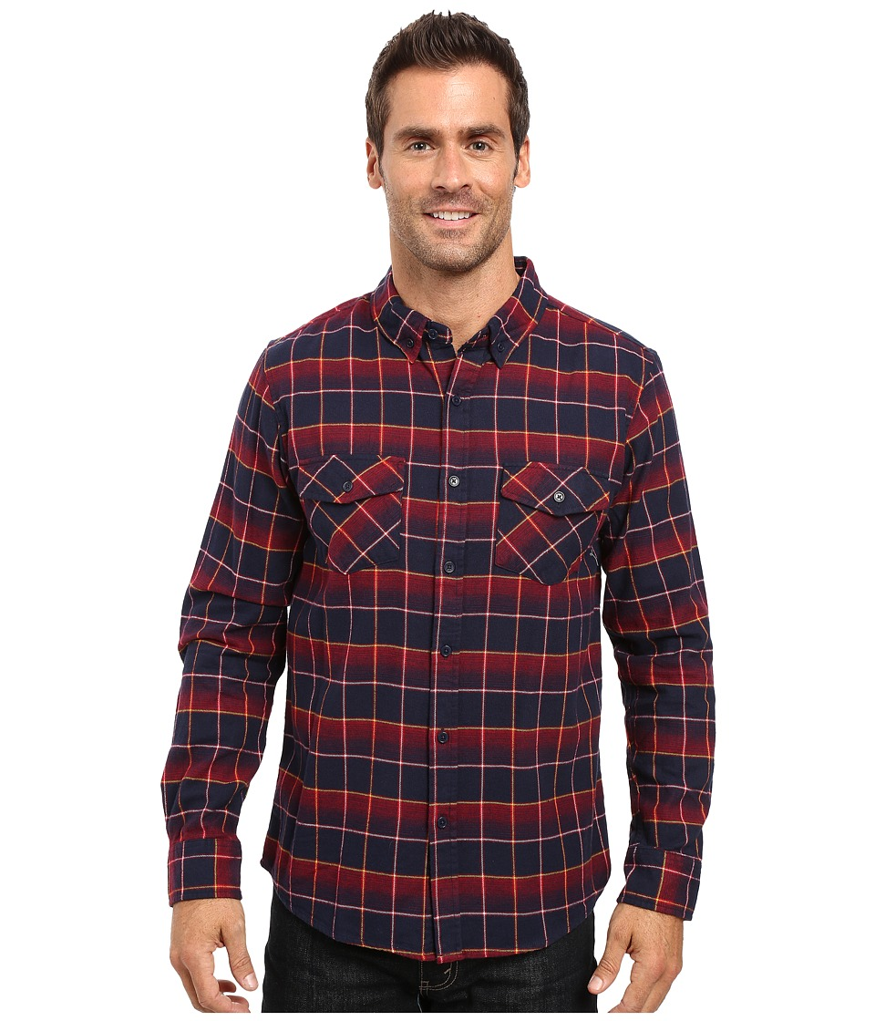 United By Blue - Brooks Plaid (Red/Navy) Men's Clothing