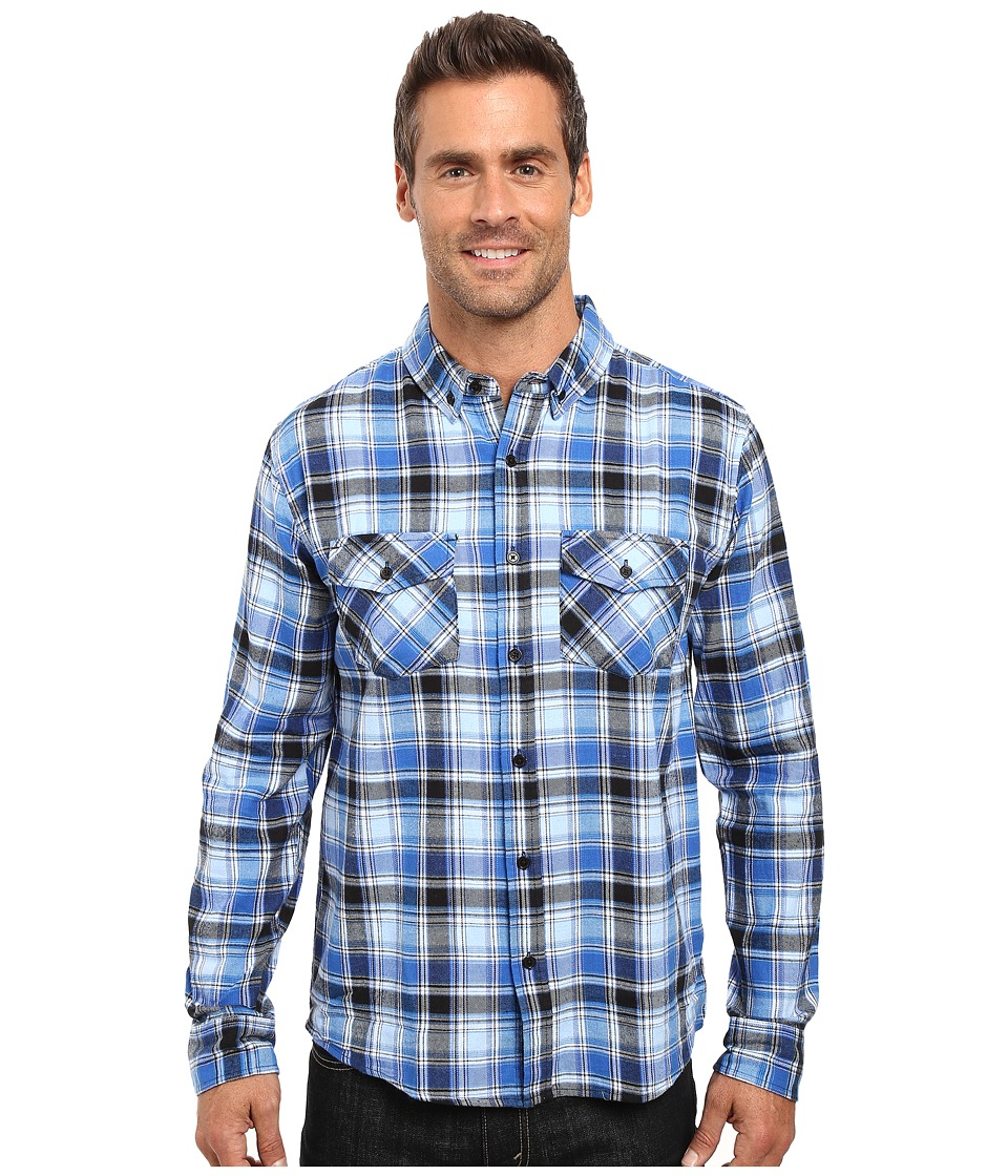 United By Blue - Paltz Plaid (Blue/Black) Men's Clothing