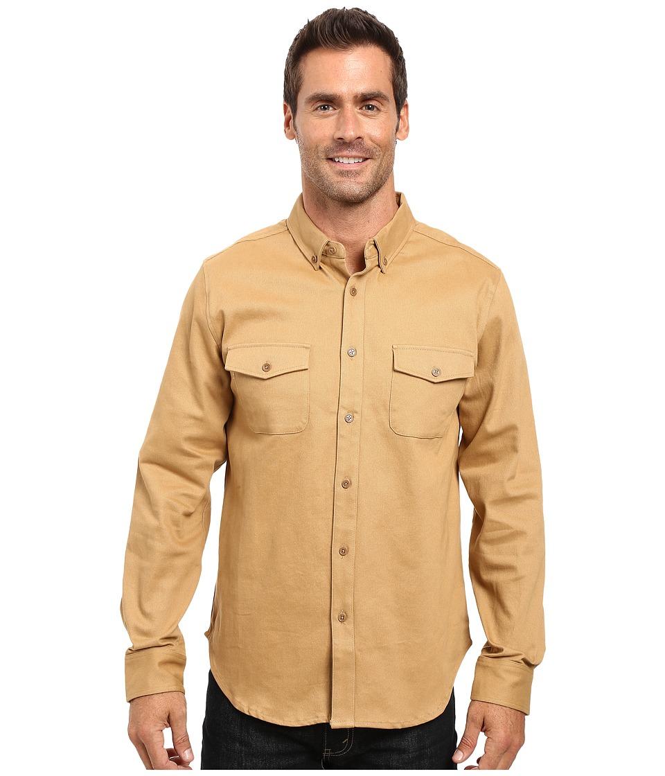 United By Blue - Kennett Work Shirt (Tan) Men's Clothing