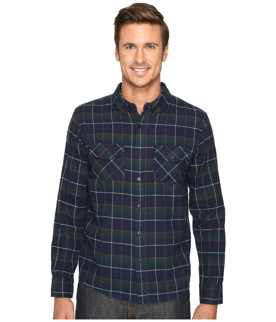 United By Blue - Brooks Plaid (Forest/Navy) Men's Clothing
