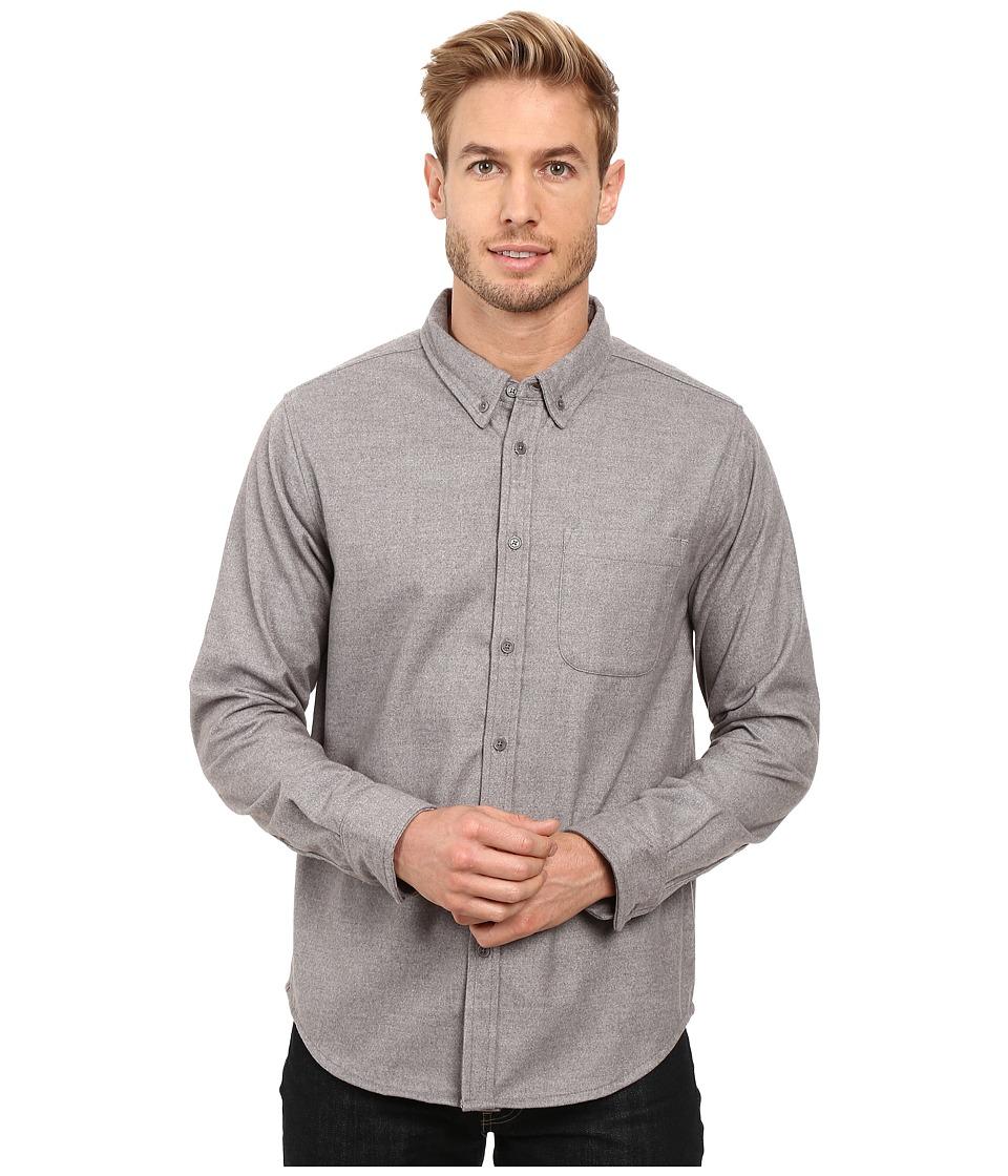 United By Blue - Banff Wool Shirt (Grey) Men's Clothing